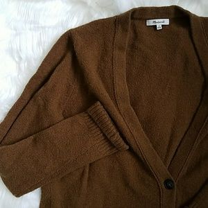 Madewell Medium Merino/alpaca Wool Cardigan sweate